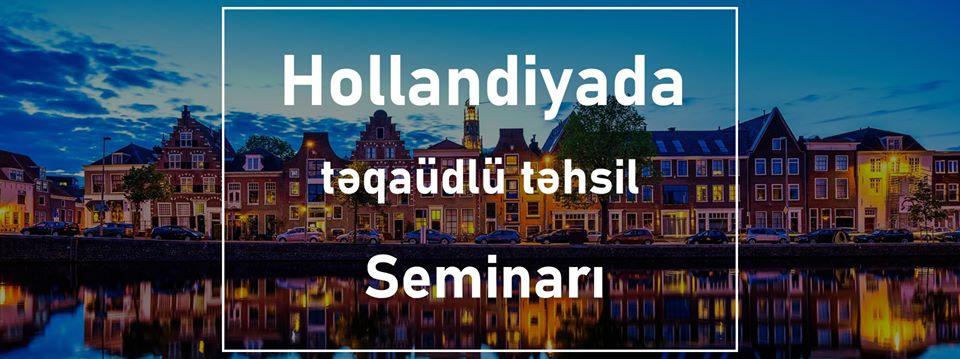 Hollandiyada Təqaüdlü Təhsil Seminarı