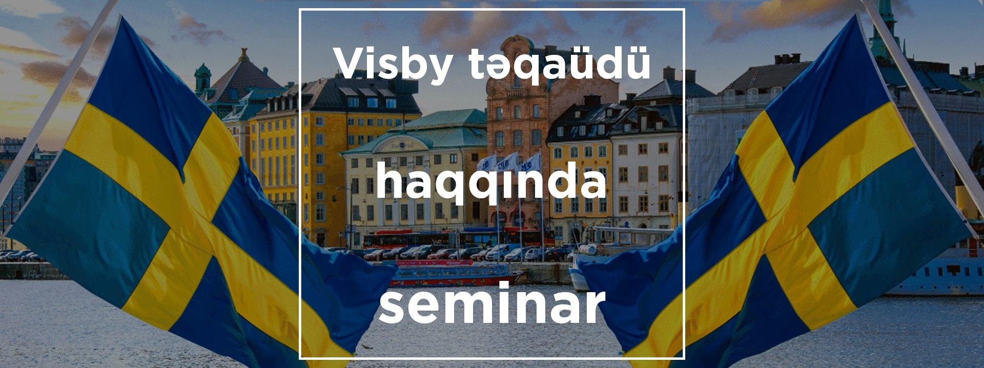 Visby təqaüdü haqqında seminar