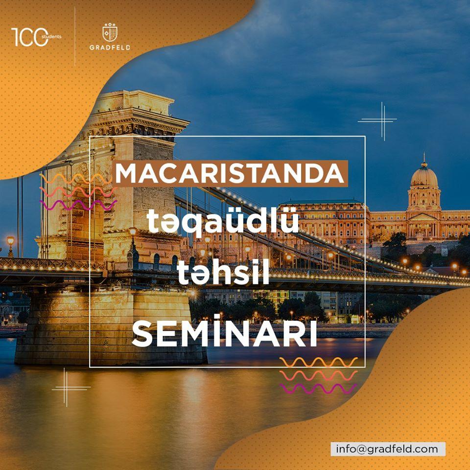 Macarıstanda Təqaüdlü Təhsil Seminarı