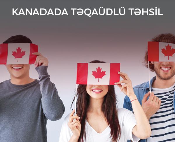 Kanadada Təqaüdlü Təhsil