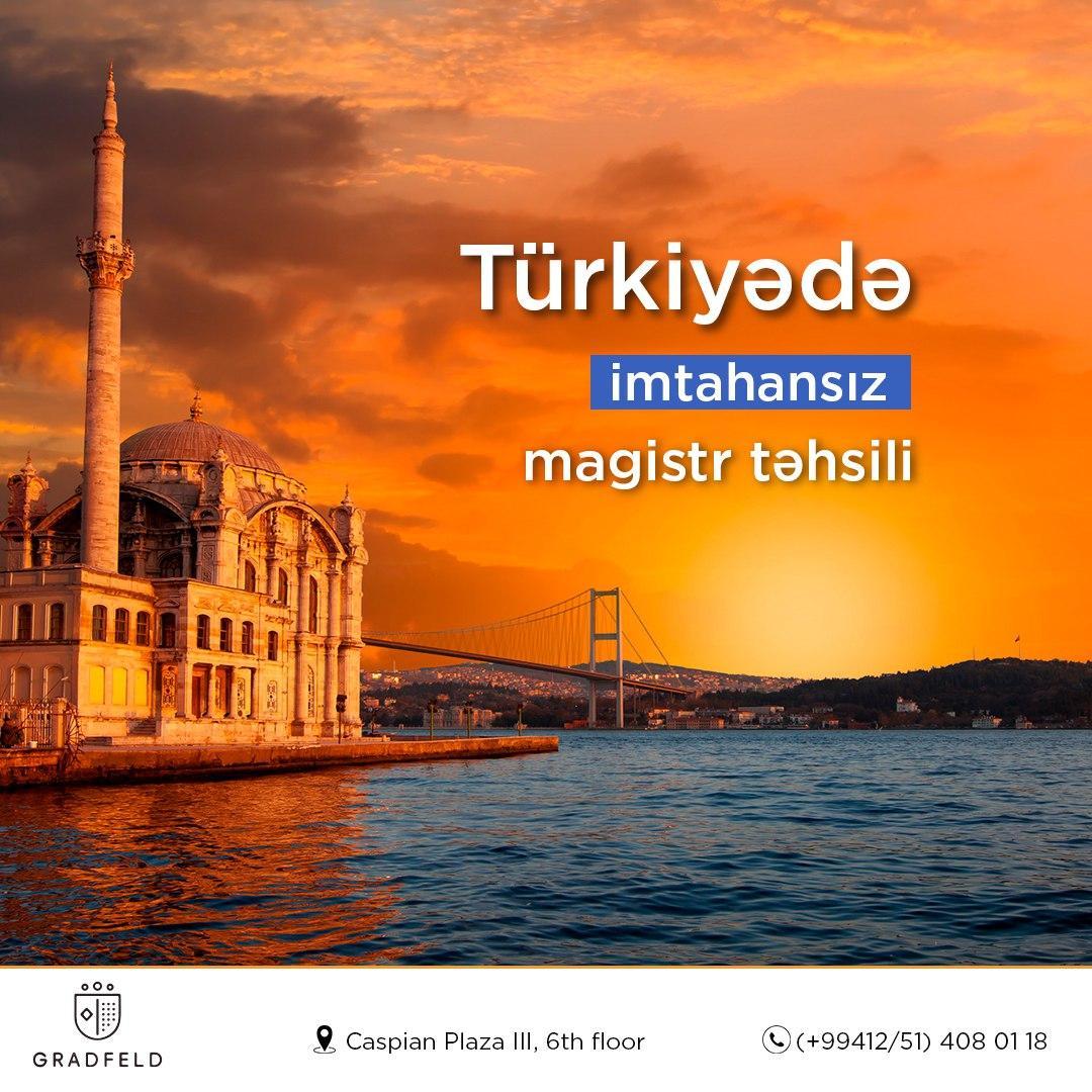Türkiyədə imtahansız magistr təhsili