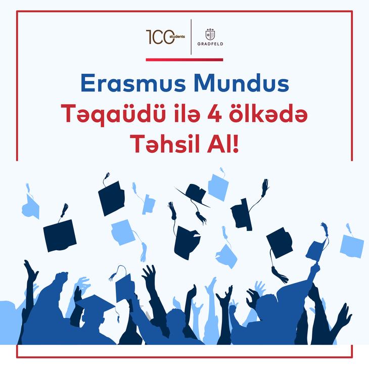 Erasmus Mundus Təqaüdü ilə 4 Ölkədə Təhsil
