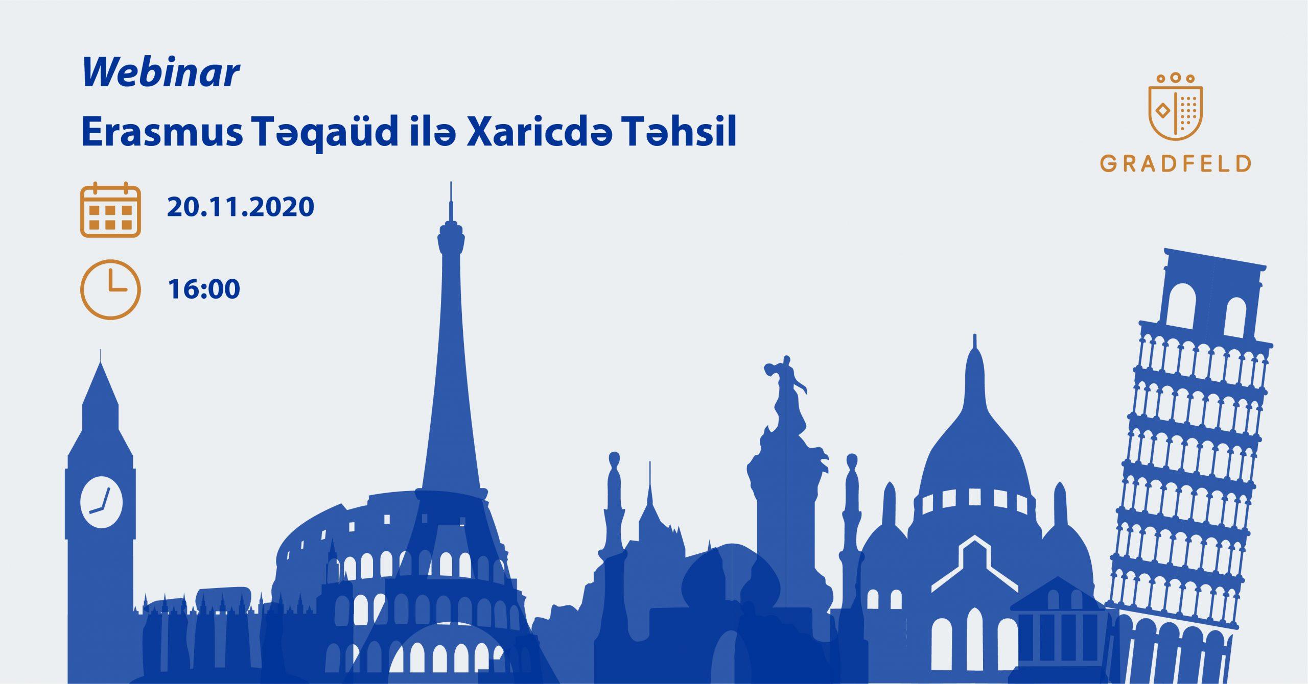 Erasmus Mundus Master Təqaüdü ilə Xaricdə Təhsil
