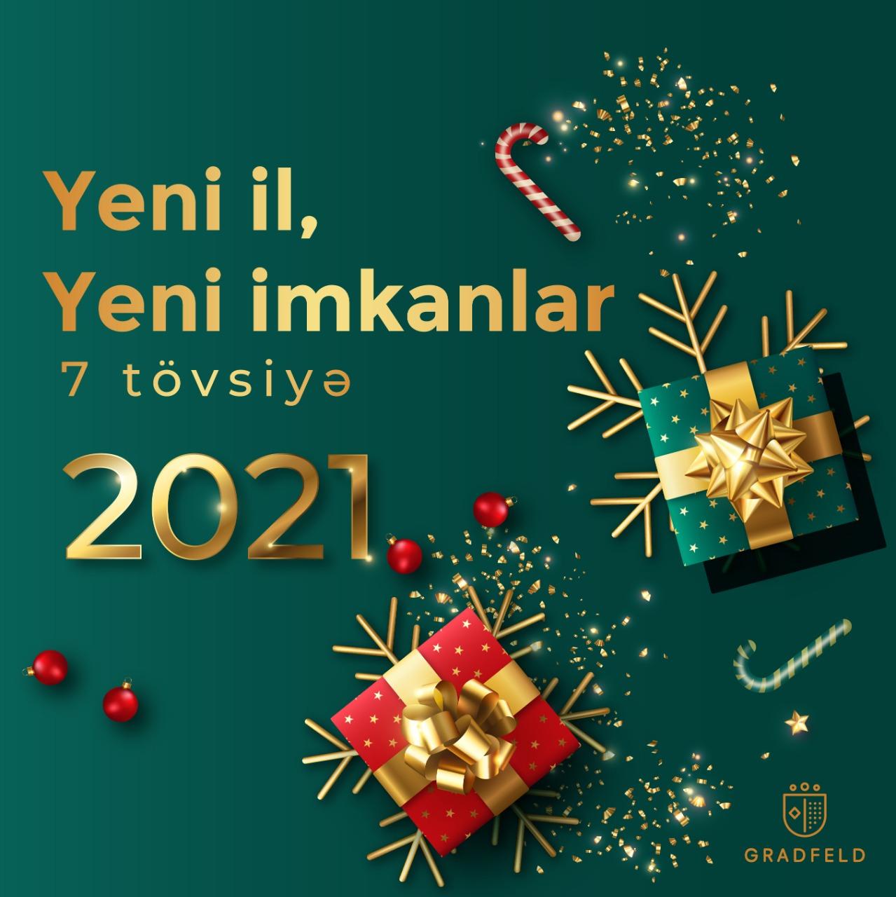 2021 üçün 7 Tövsiyə