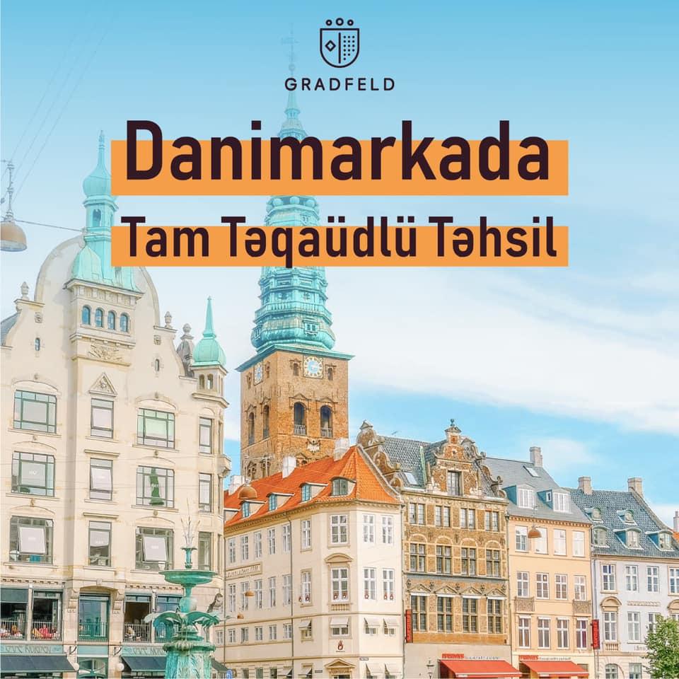 Danimarkada TAM TƏQAÜDlü Magistr təhsili