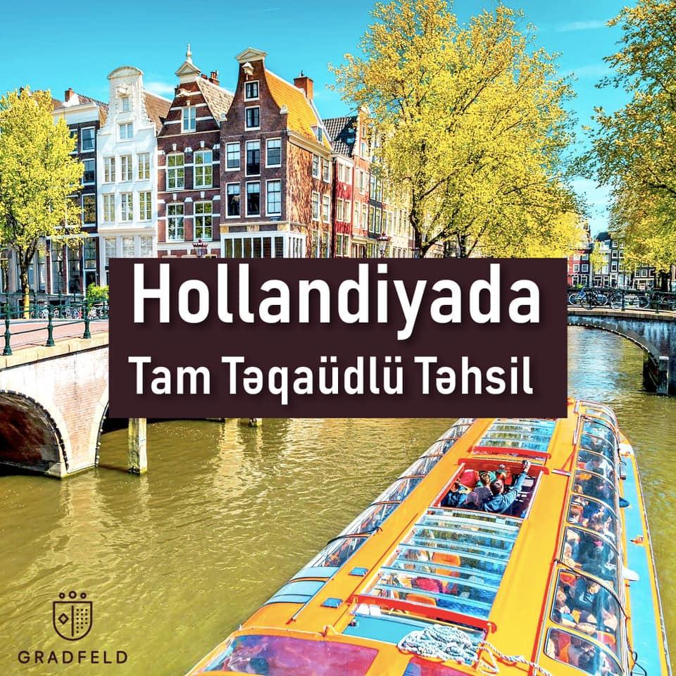Hollandiyada Tam Təqaüdlü Təhsil