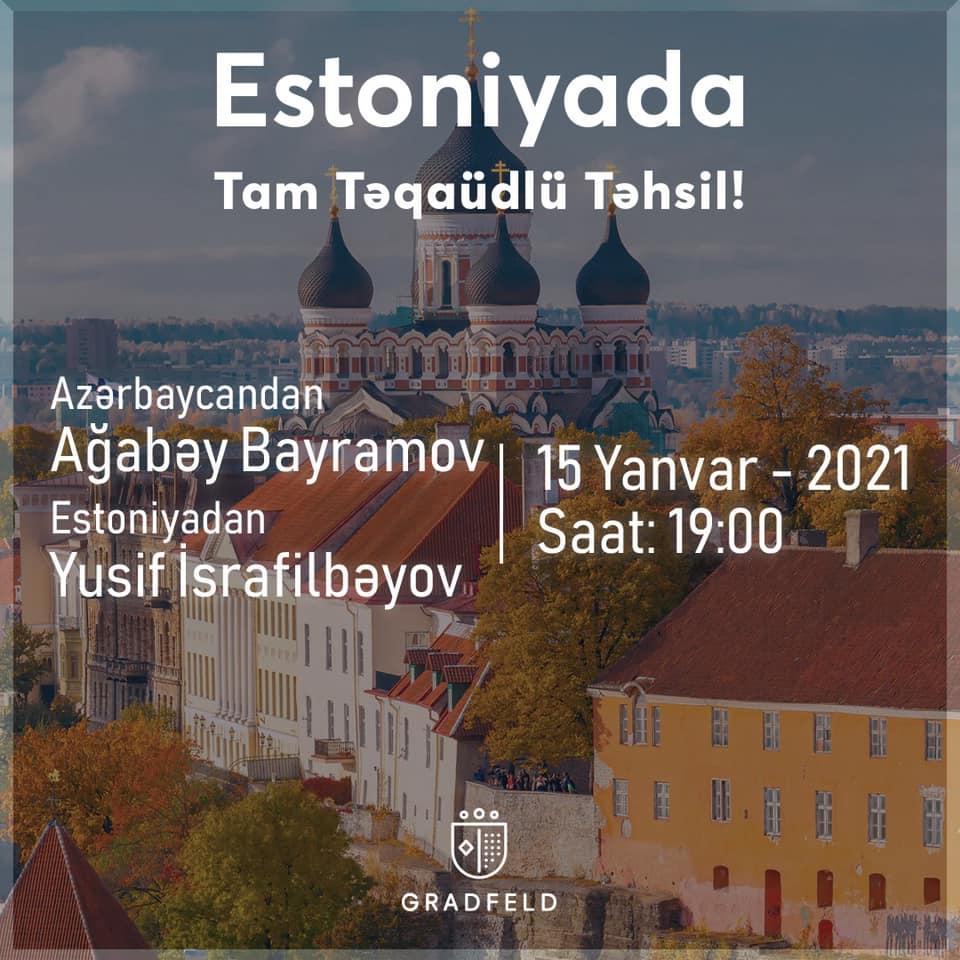 Estoniyada Tam Təqaüdlü Təhsil!