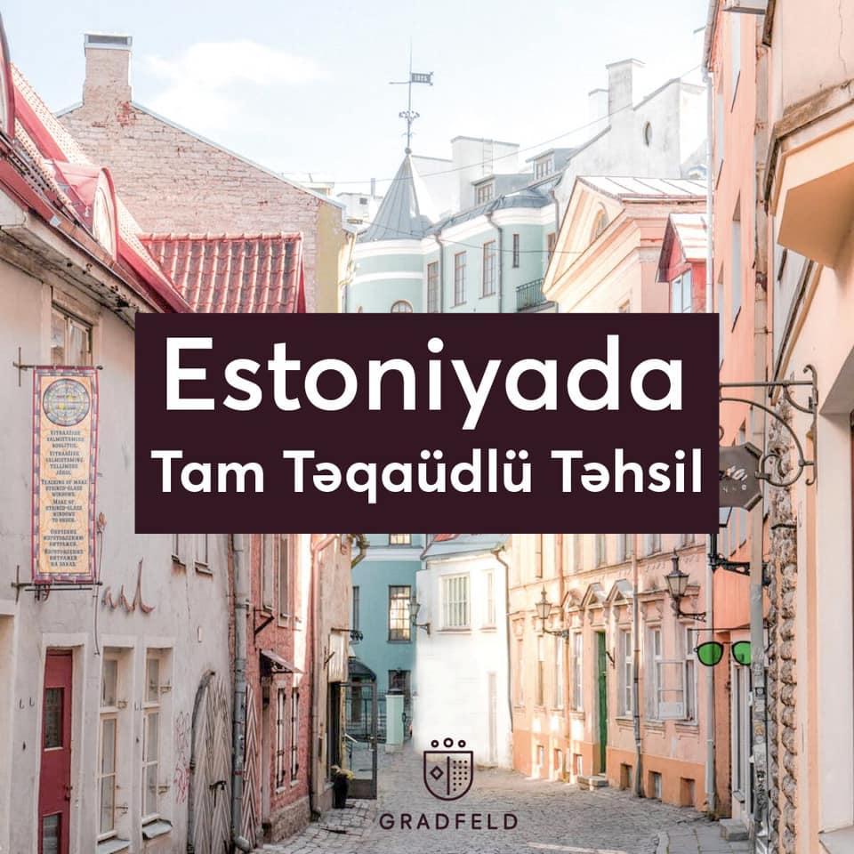 Estoniyada TAM TƏQAÜDLÜ təhsil