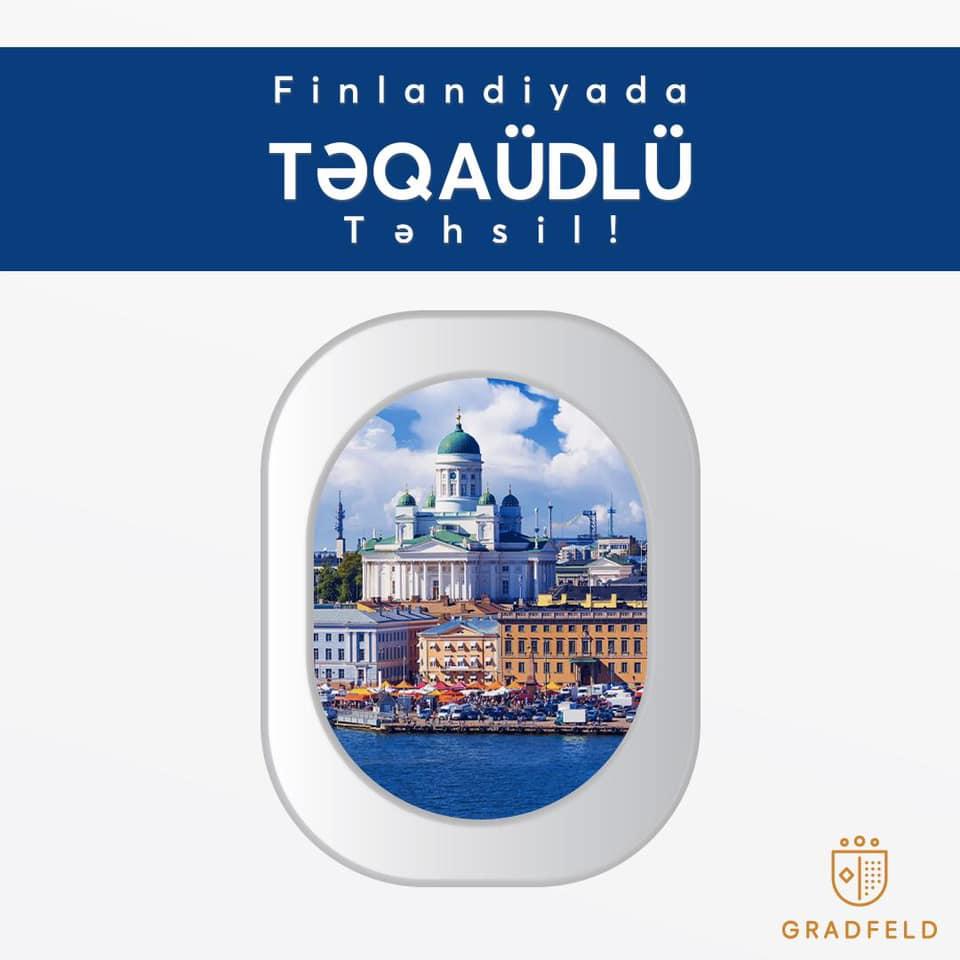 Finlandiyada Tam Təqaüdlü Magistr Təhsili