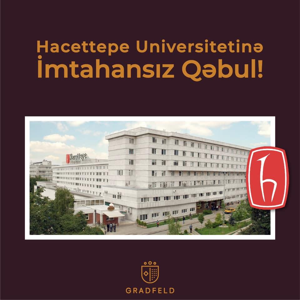Hacettepe UniversitetinəİMTAHANSIZ Təhsil