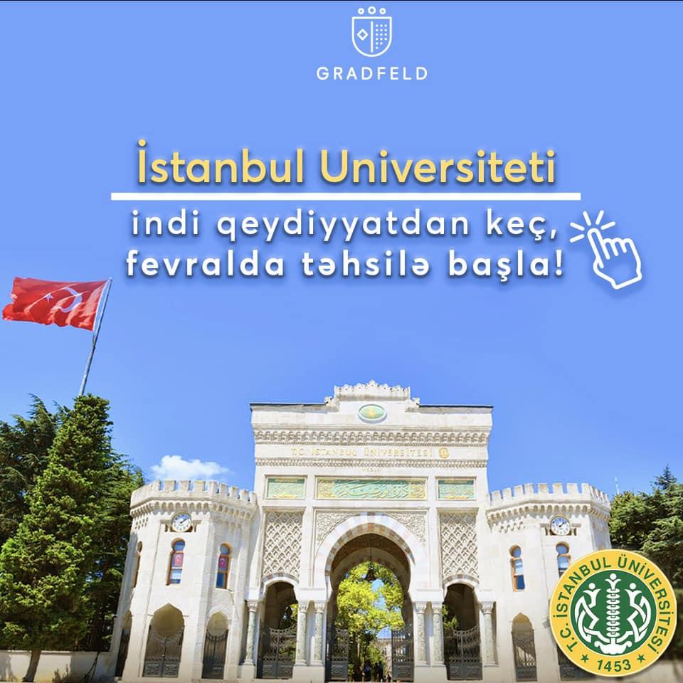 İstanbul UniversitetindəİMTAHANSIZTEZLİ və TEZSİZ magistratura tehsili