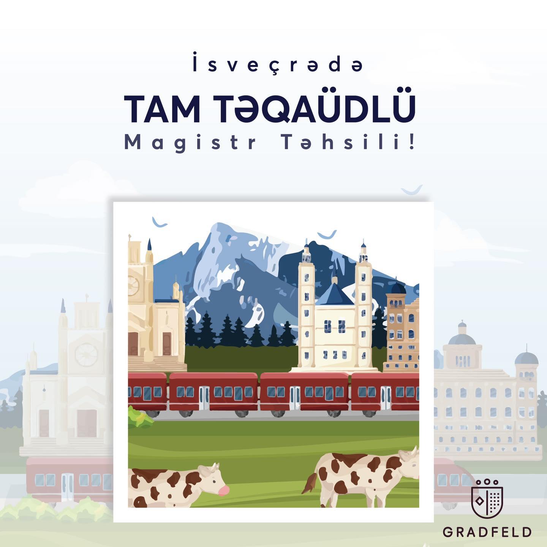 İsveçrədə Tam Təqaüdlü Magistr Təhsili