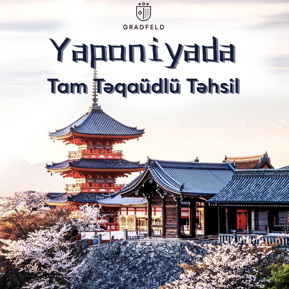 Yaponiyada Tam Təqaüdlü Təhsil