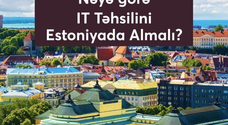 estoniyada it tehsili