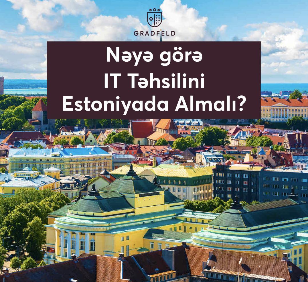 Estoniyada IT təhsili