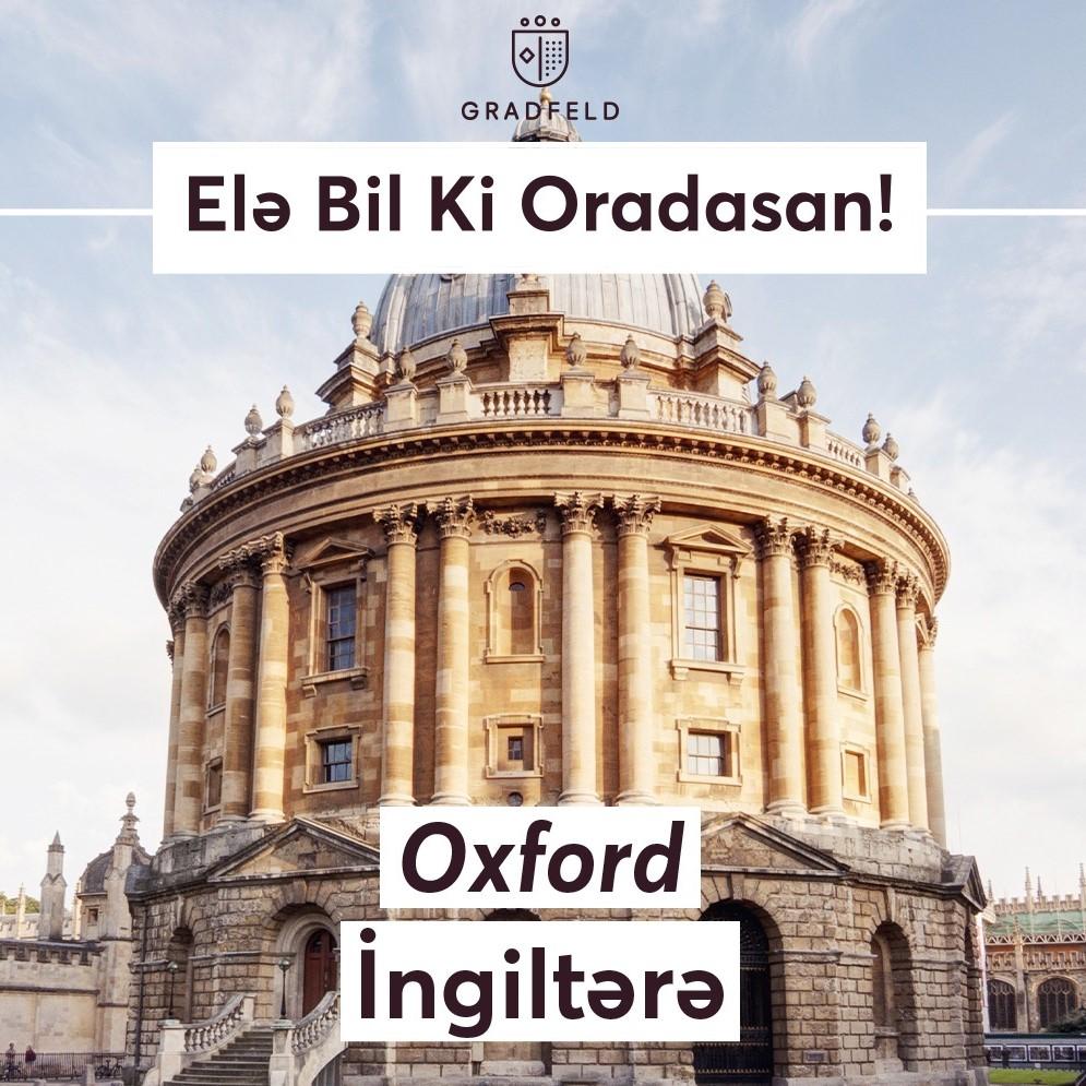 Elə bil ki oradasan – Oxford, İngiltərə