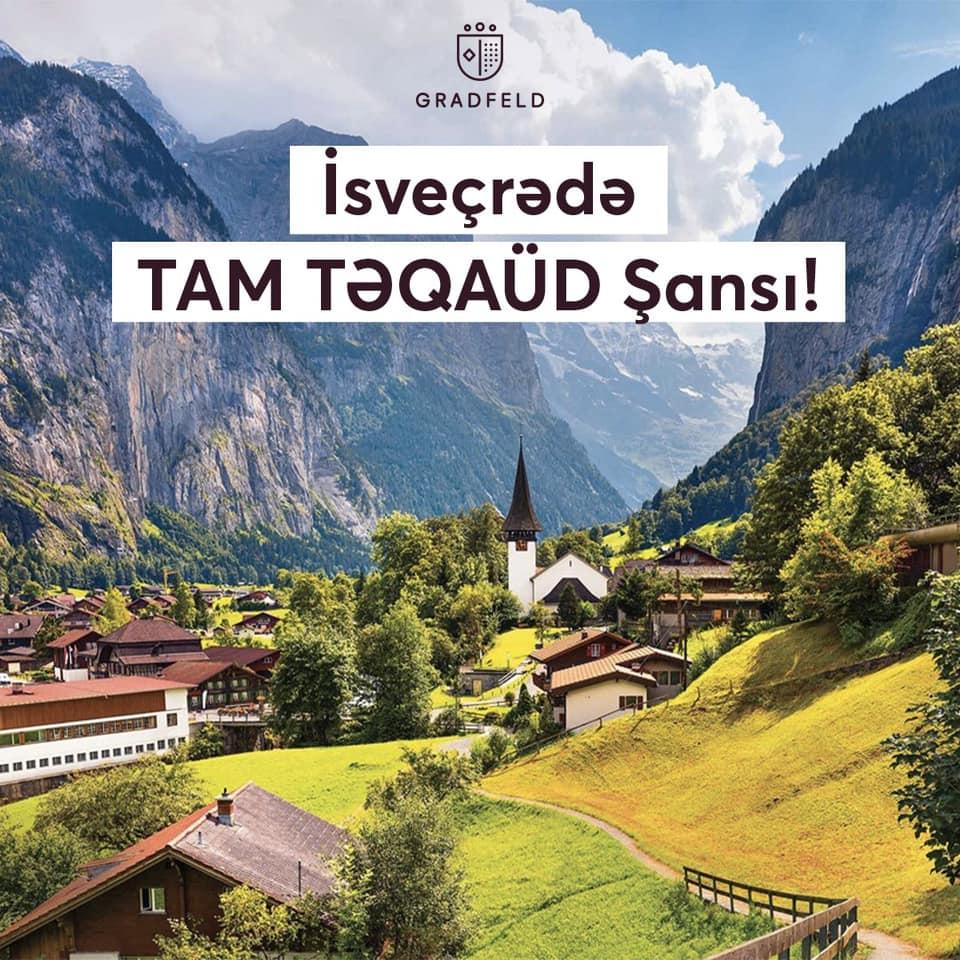 İsveçrədə TAM TƏQAÜDLÜ təhsil