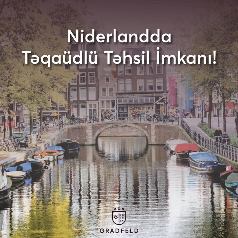 Niderlandda Magistr Təhsili İmkanı