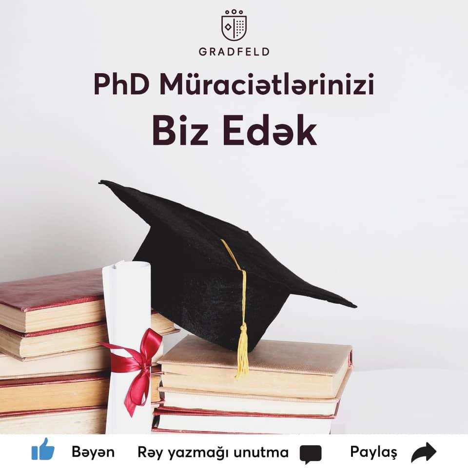 PhD dərəcəsinə müraciət
