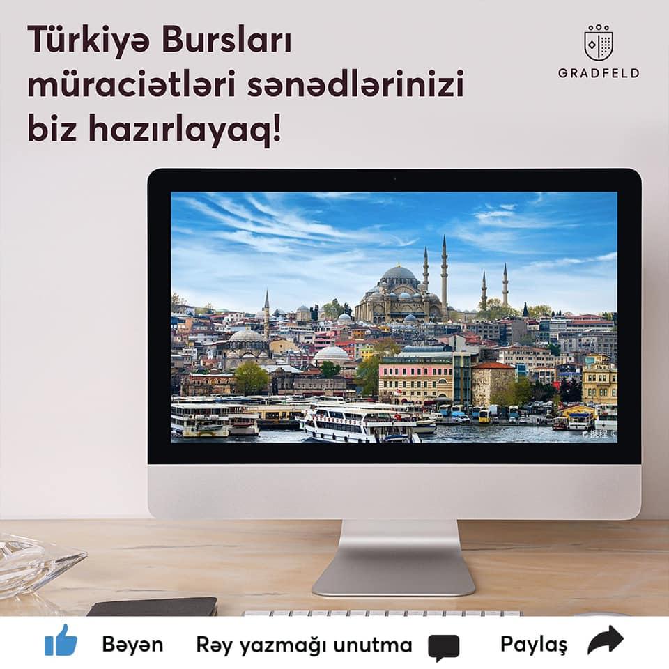 Türkiye Burslarına qebul davam edir