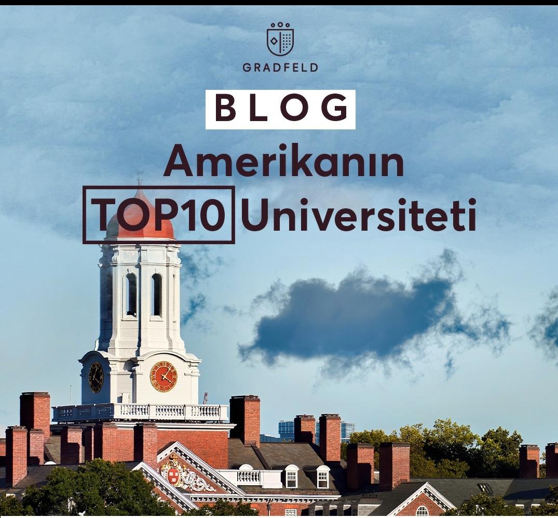Amerikanın TOP 10 Universitetleri
