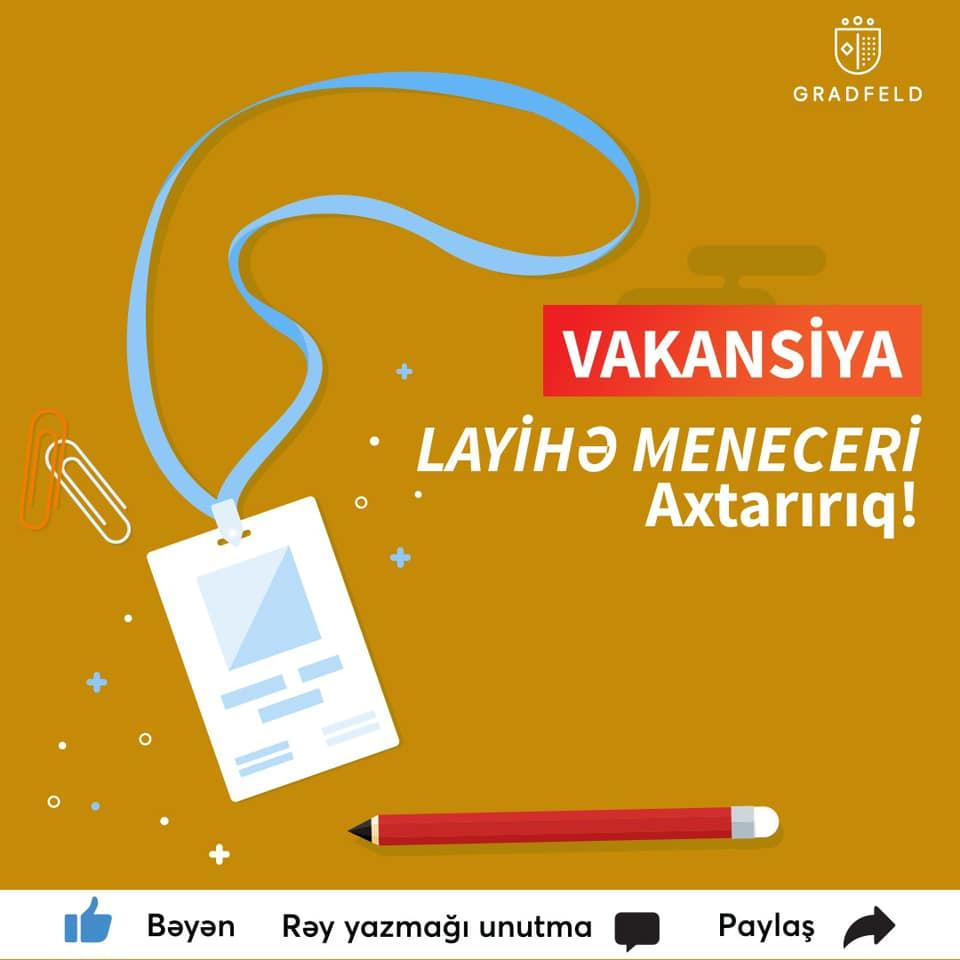 Vakansiya Elanı – Layihə Meneceri